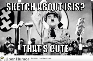 To those freaking out about SNL's ISIS sketch