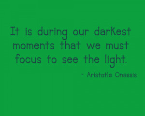 Quote – Aristotle Onassis