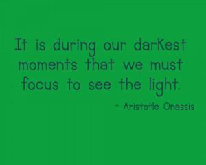 Quote – Aristotle Onassis