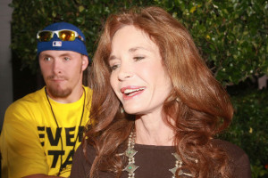 Mary Crosby Attends The...