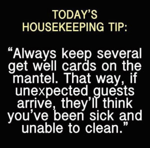 House cleaning quote