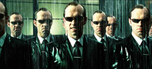 Agent Smith, a cyber agent within the Matrix who hunts those who have ...
