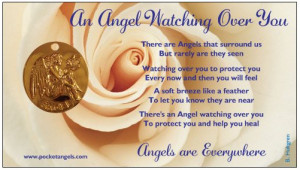 ... GUARDIAN ANGEL | An Angel Watching Over You Memorial Gift Pocket Angel