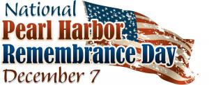 Pearl Harbor – December 7, 1941 – Lest We Forget