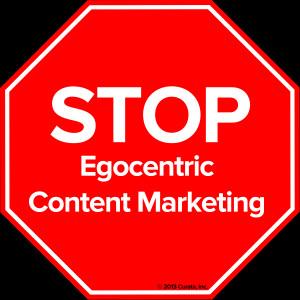 Egocentric Stop egocentric content