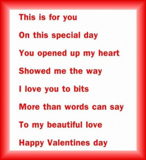 Valentine's Day Short Poems for Greetings Cards, Printables Cards