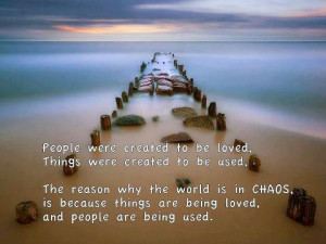 The Reason Why The World In Chaos