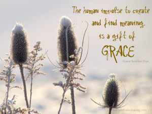 ... is a gift of grace grace is the opposite of expectations because