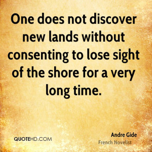 Andre Gide Time Quotes
