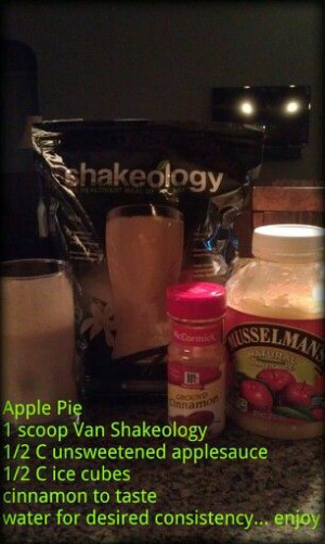 ... btbeachbody #shakeology #breakfast #healthy #fitness #applepie #lowfat
