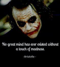 ... Insanity #Quote #History #HistoricalFigure #ClassicLiterature #Joker #