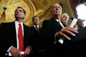 John Cornyn Senate Lawmakers Address the Media