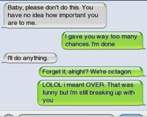 Very Simple Way To Break Up