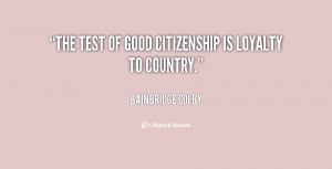 Quotes About Good Citizenship