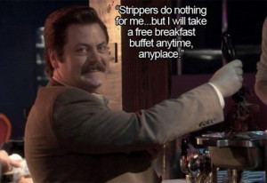 ... quotes, ron swanson, epic, epic win, Top 10 Ron Swanson Inspirational