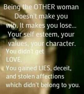 The other woman.