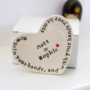Shakespeare Love Quote Personalized Wedding Ring Dish Engagement Gift ...