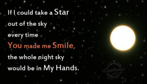 Best Friend Quote: If I could take a star out... 21