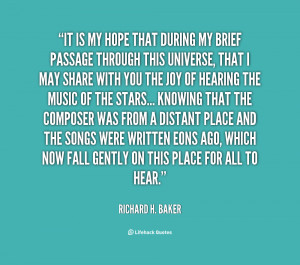 quote Richard H Baker it is my hope that during my 8466 png