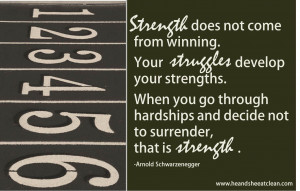 Motivational Monday :: Strength leads to VICTORY