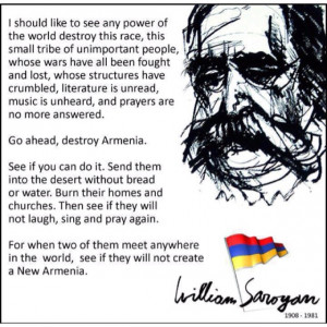 William Saroyan, Armenian-American Author and Poet.