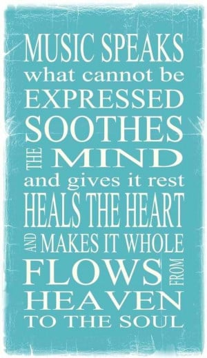 ... rest heals the heart and makes it whole flows from heaven to the soul