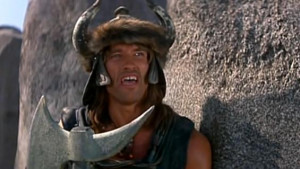 Conan the Barbarian - Conan asks Crom for revenge
