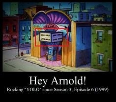 yolo hey arnold funny funny shit 90s cartoons funny arnold rocks ...