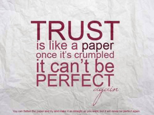 Funny Trust Issue Quot...