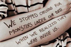 forever depressed, quote