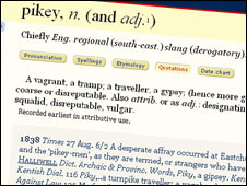 The OED says it's an offensive term
