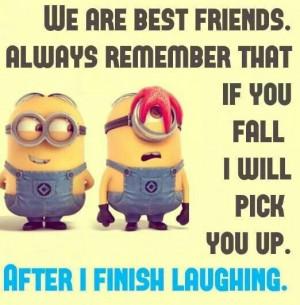 Minion Friendship Quotes (5 Photos)