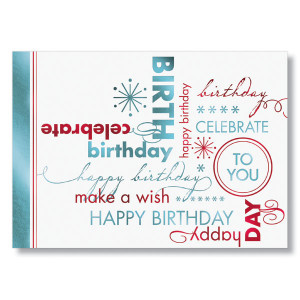 Celebration Wishes Birthday Cards