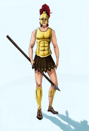 Greek Warrior Ewela