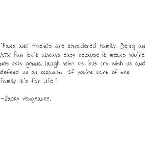 lovely zacky vengeance quote
