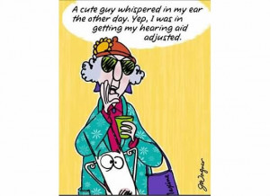 Audiologists - check out this hearing comic! Too funny!!!