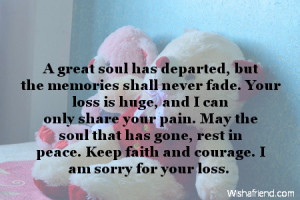 The pain of losing someone can never be compensated no matter what ...