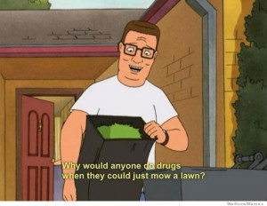 Yeah, we can debate on Hank Hill, but I'm sure we all agree Peggy is a ...
