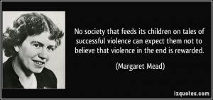 Quotes About Violence In Society