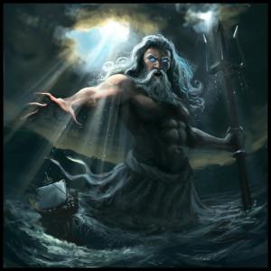 ... Poseidon, Greek Romans Mythology, Greek Gods, Romans Gods, Camping