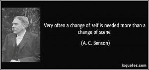 More A. C. Benson Quotes