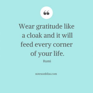 Rumi Quotes On Gratitude