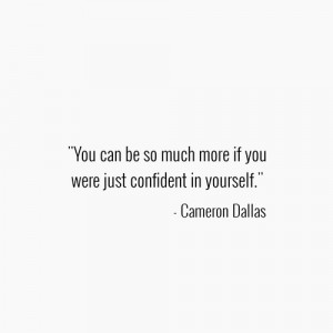 Cameron Dallas Quotes. on We Heart It .