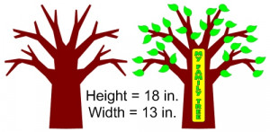 Printable Tree Branch Template Family tree templates for