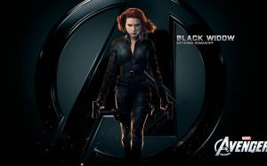 Black Widow - The Avengers wallpaper