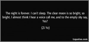 Cant Sleep Quotes I can't sleep.