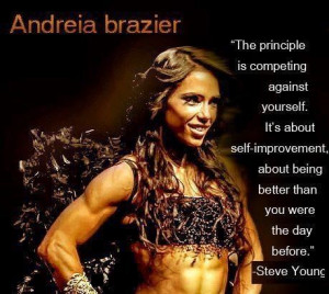 Andreia brazier female fitness model and competitor