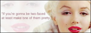 two face Facebook Cover