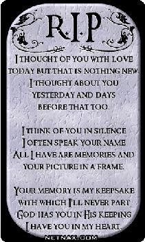 Princess-Stina98 Loss Of A Loved One quotes
