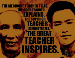 Yip Man and Bruce Lee poster